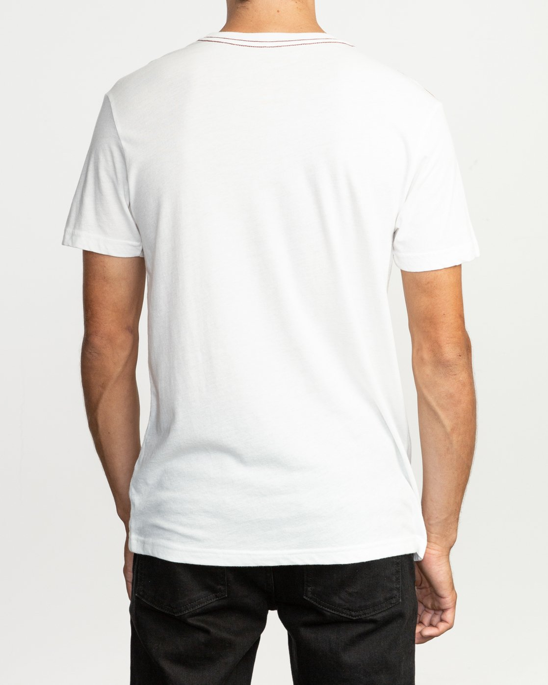 3 Big RVCA T-Shirt White M420SRBI RVCA