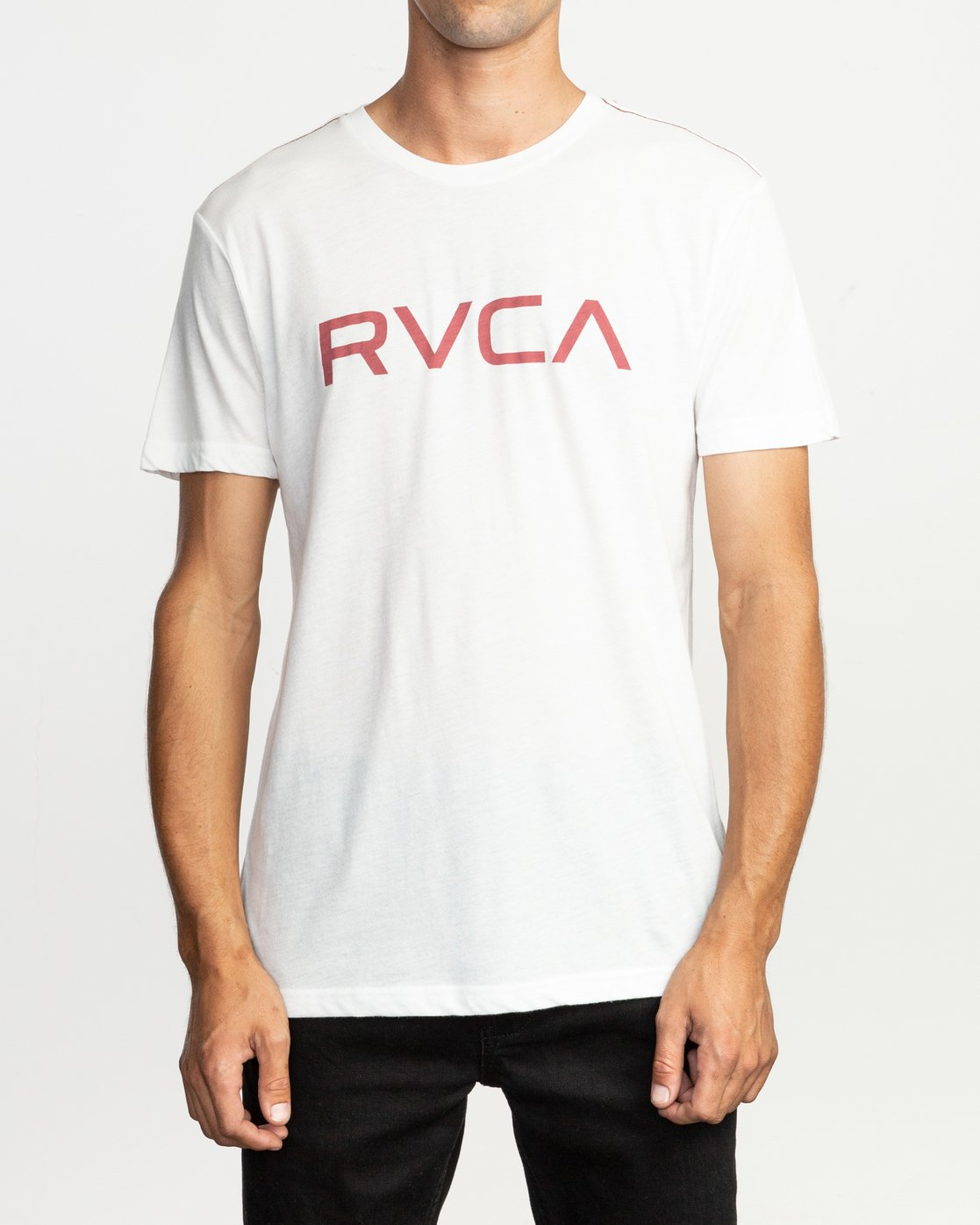 1 Big RVCA T-Shirt White M420SRBI RVCA