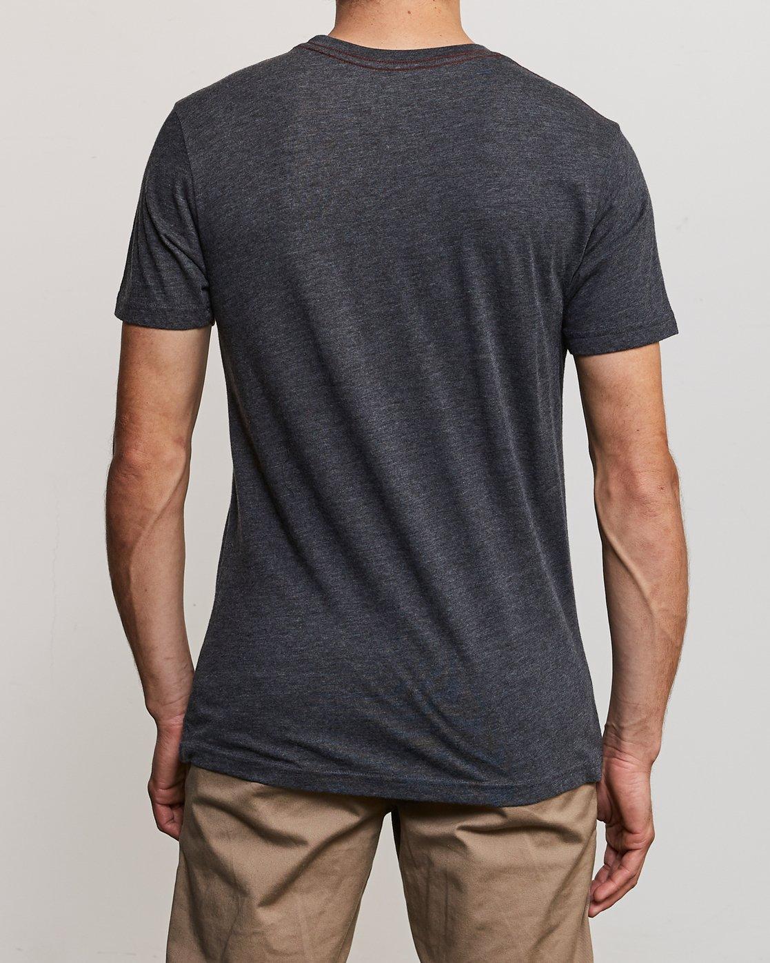 3 Big RVCA T-Shirt Black M420SRBI RVCA