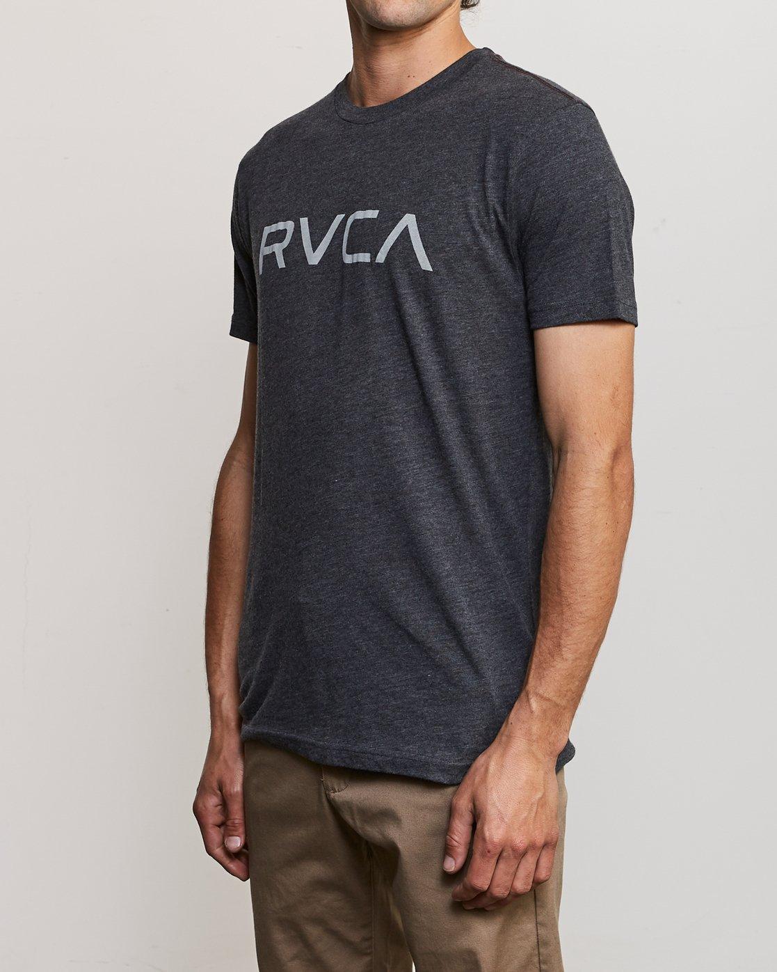 2 Big RVCA T-Shirt Black M420SRBI RVCA