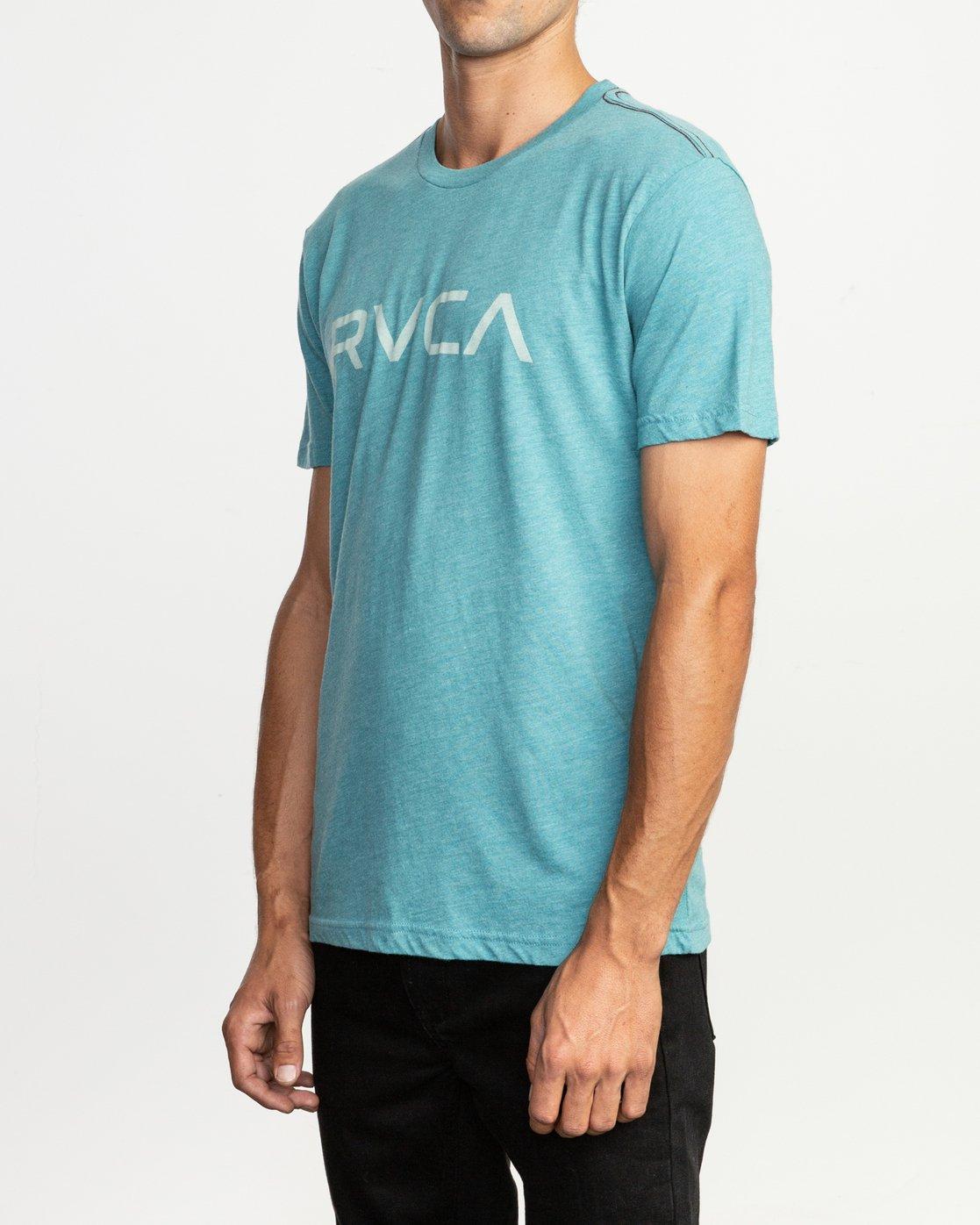 2 Big RVCA T-Shirt Blue M420SRBI RVCA