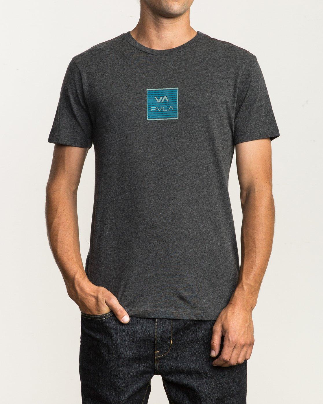 2 Blinder VA T-Shirt Black M420SRBL RVCA
