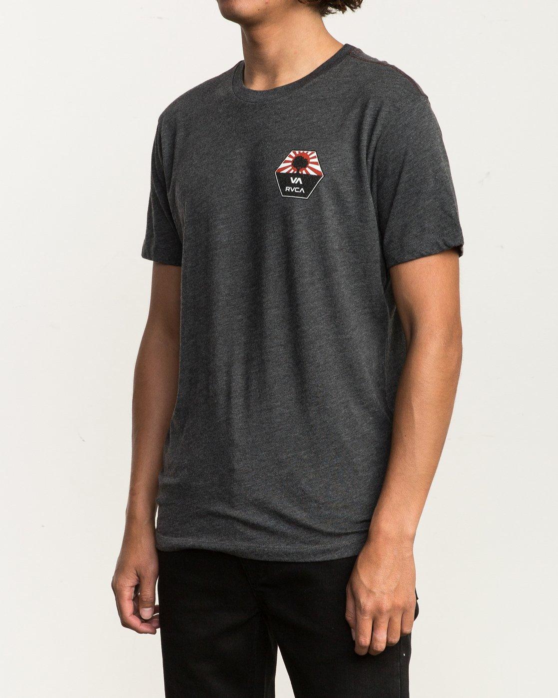 3 Bruce Irons T-Shirt Black M420SRBR RVCA