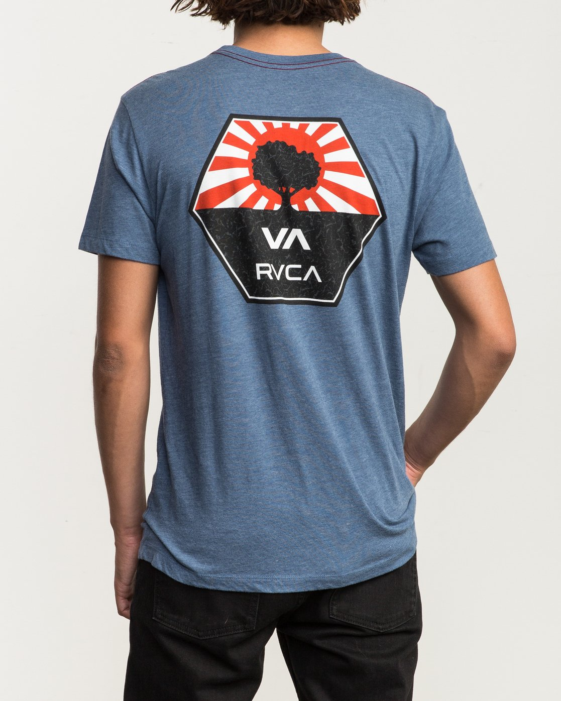 4 Bruce Irons T-Shirt Blue M420SRBR RVCA