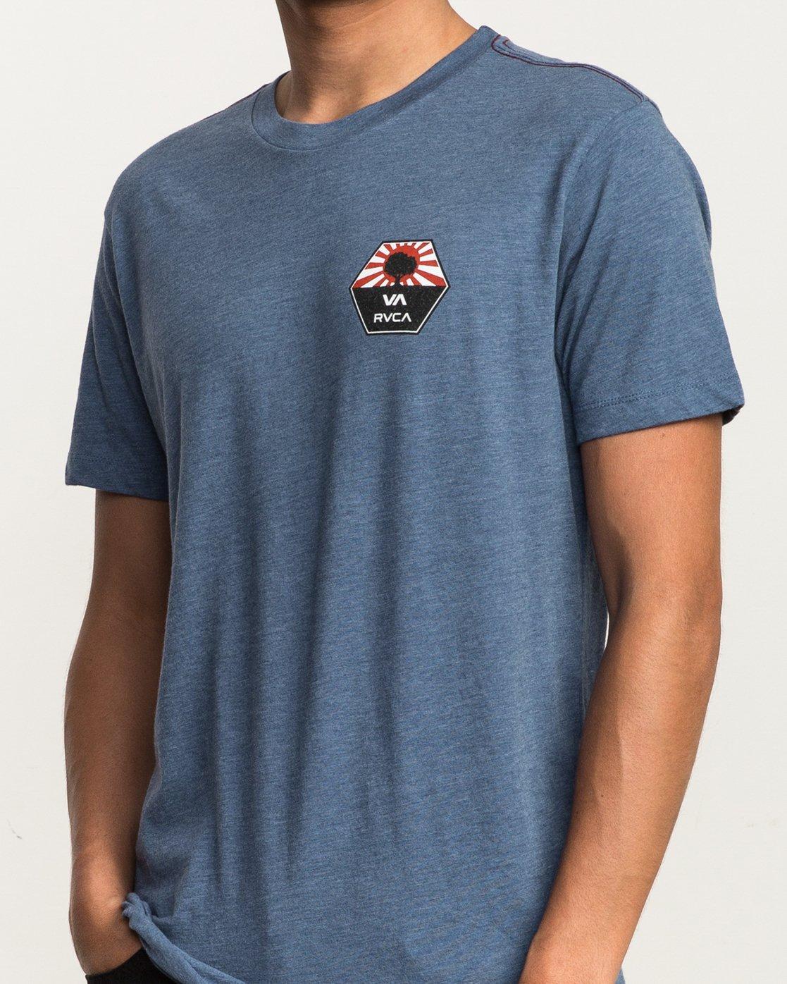 5 Bruce Irons T-Shirt Blue M420SRBR RVCA