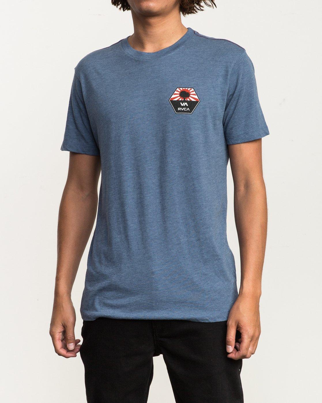 2 Bruce Irons T-Shirt Blue M420SRBR RVCA