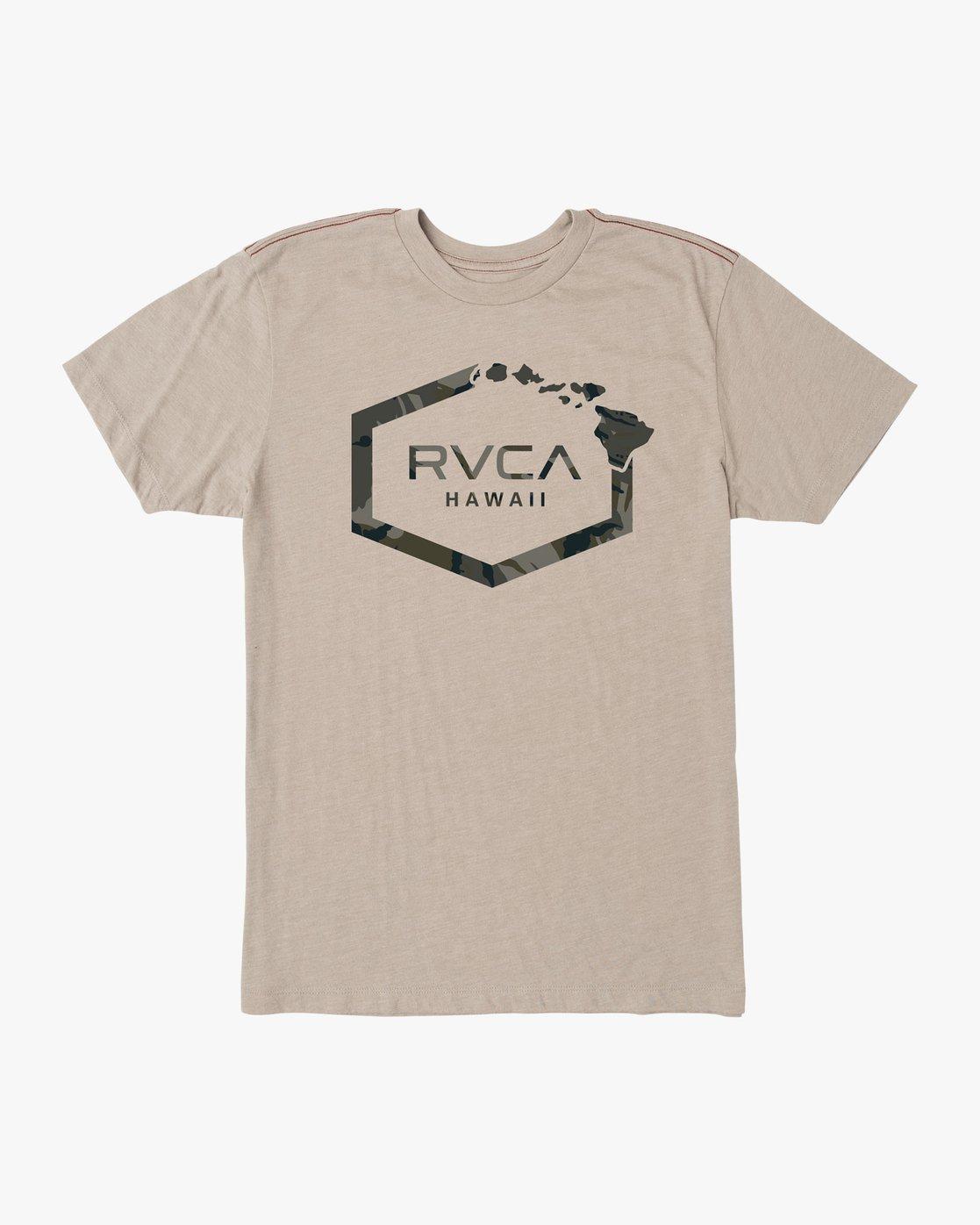 0 Island Hex T-Shirt Multicolor M420SRIS RVCA