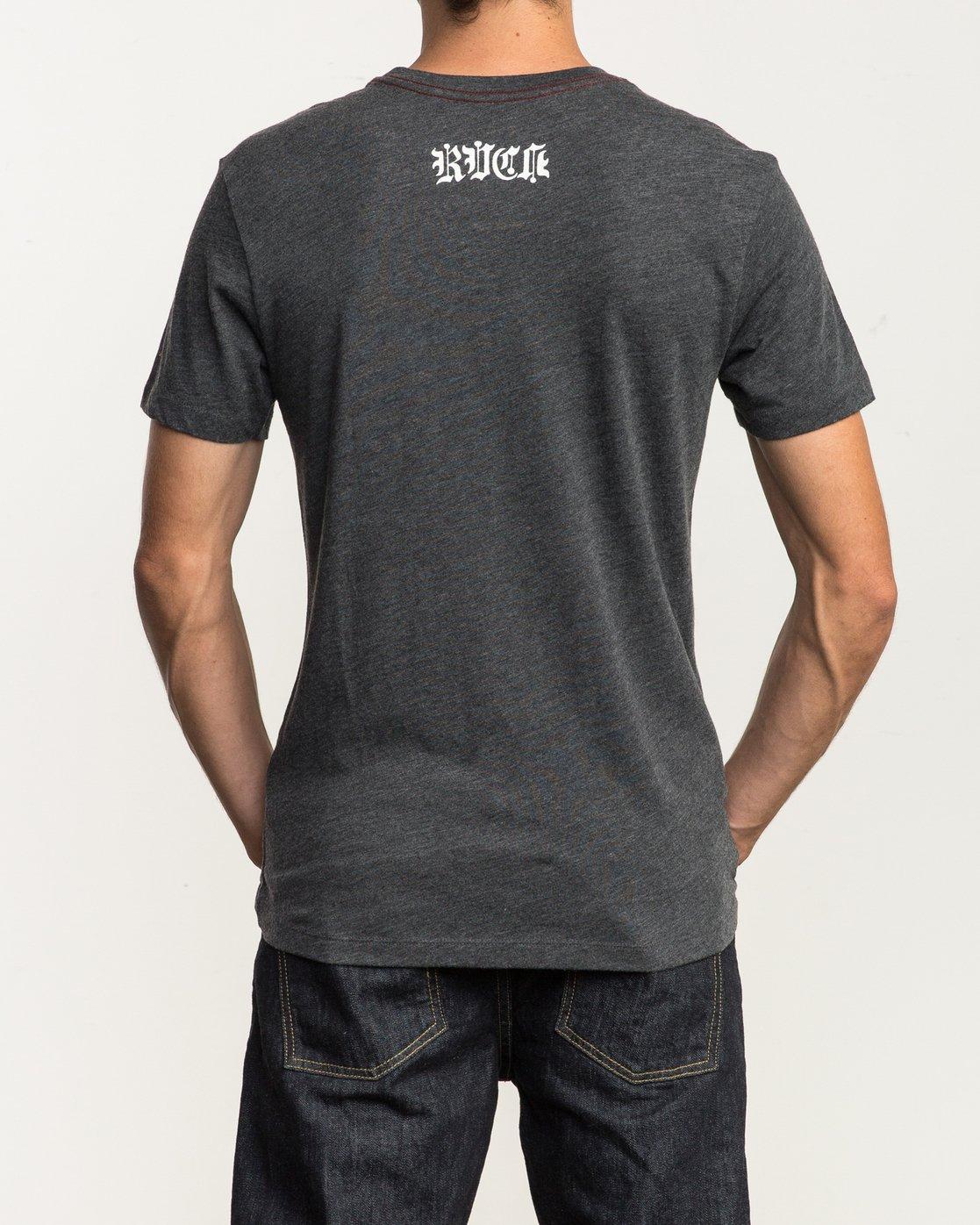 4 Bert Krak Dagger T-Shirt  M420SRKR RVCA