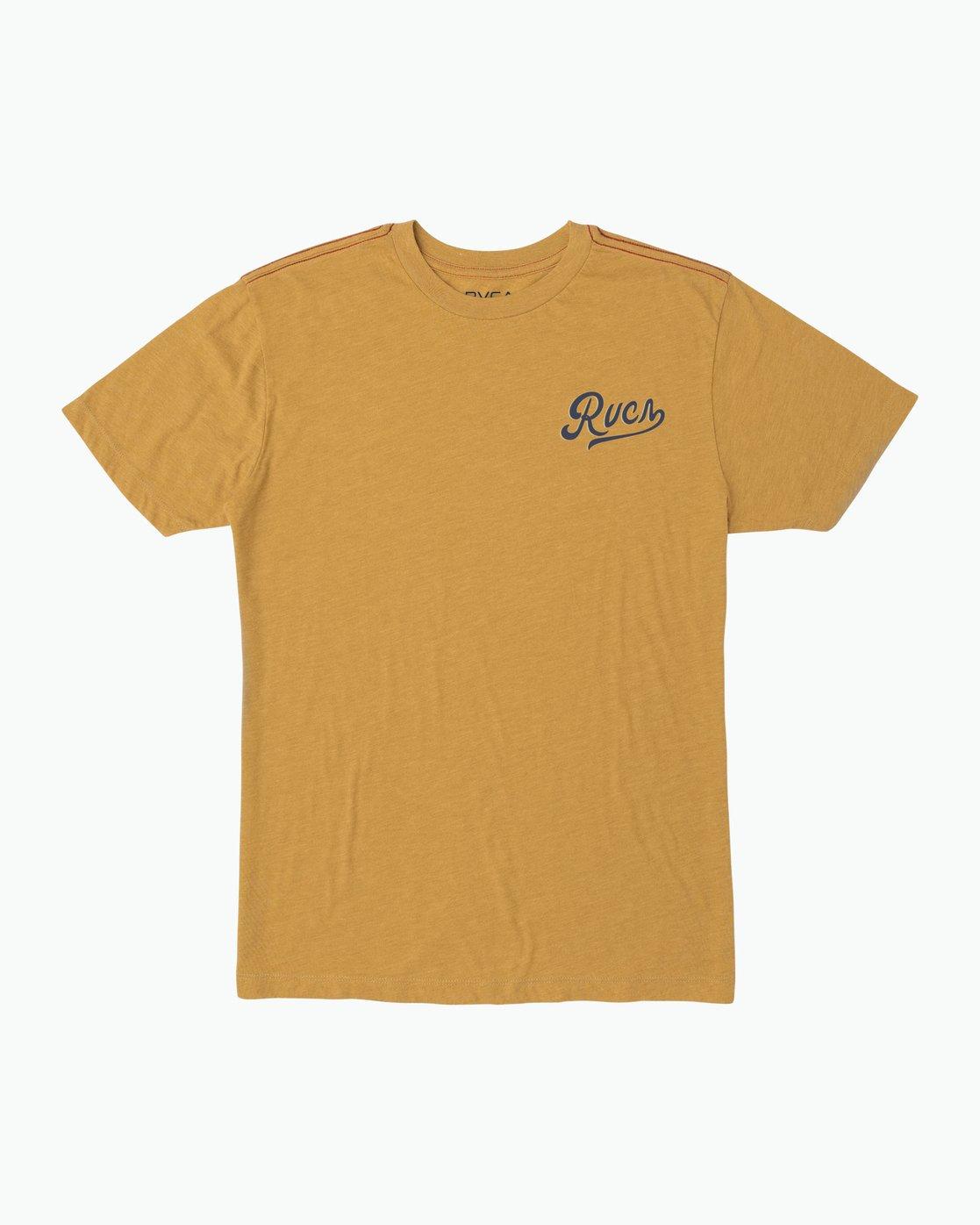 1 North Park T-Shirt Green M420SRNO RVCA