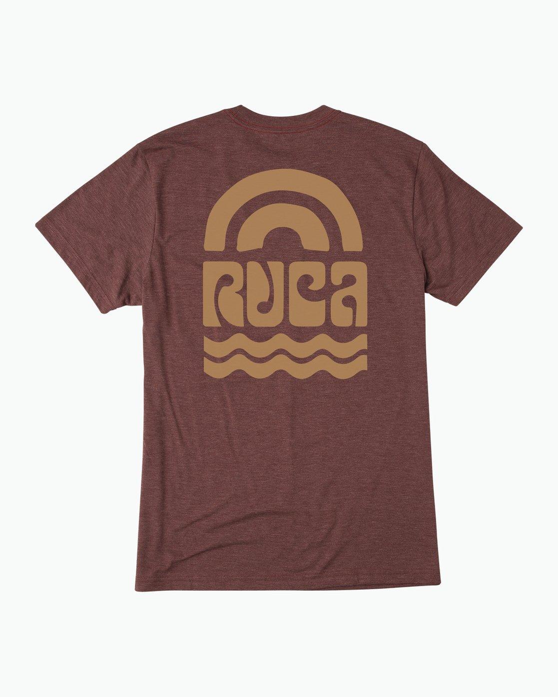 0 Rivey Era T-Shirt Red M420SRRI RVCA