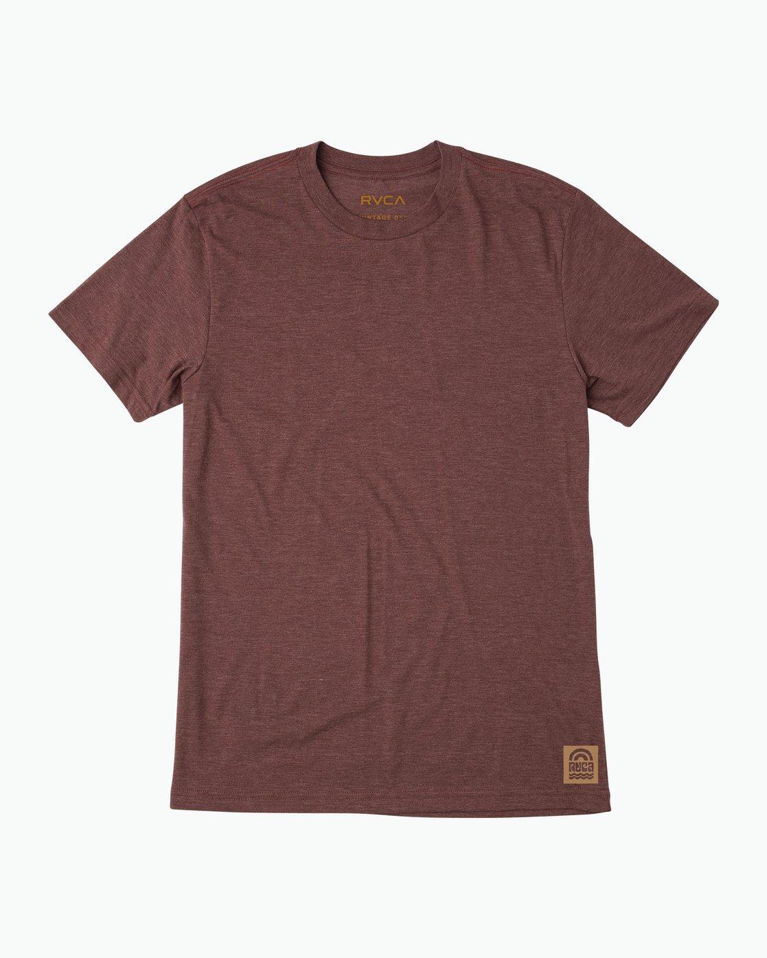 1 Rivey Era T-Shirt Red M420SRRI RVCA