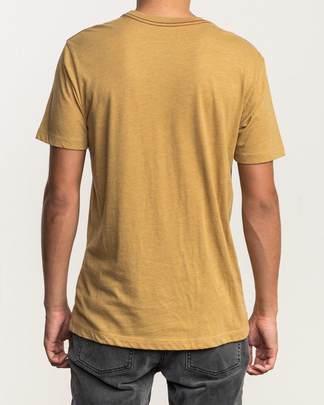 3 Solo Label T-Shirt  M420SRSO RVCA