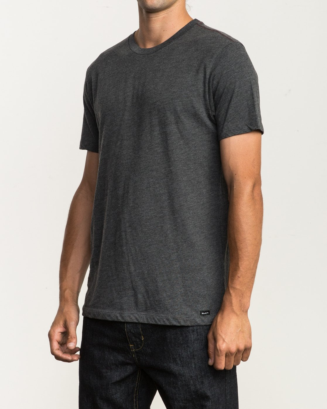 2 Solo Label T-Shirt Black M420SRSO RVCA