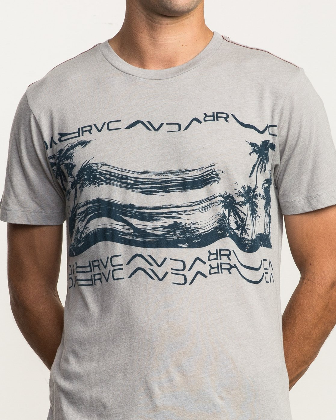 5 Warped Palm T-Shirt Multicolor M420SRWA RVCA