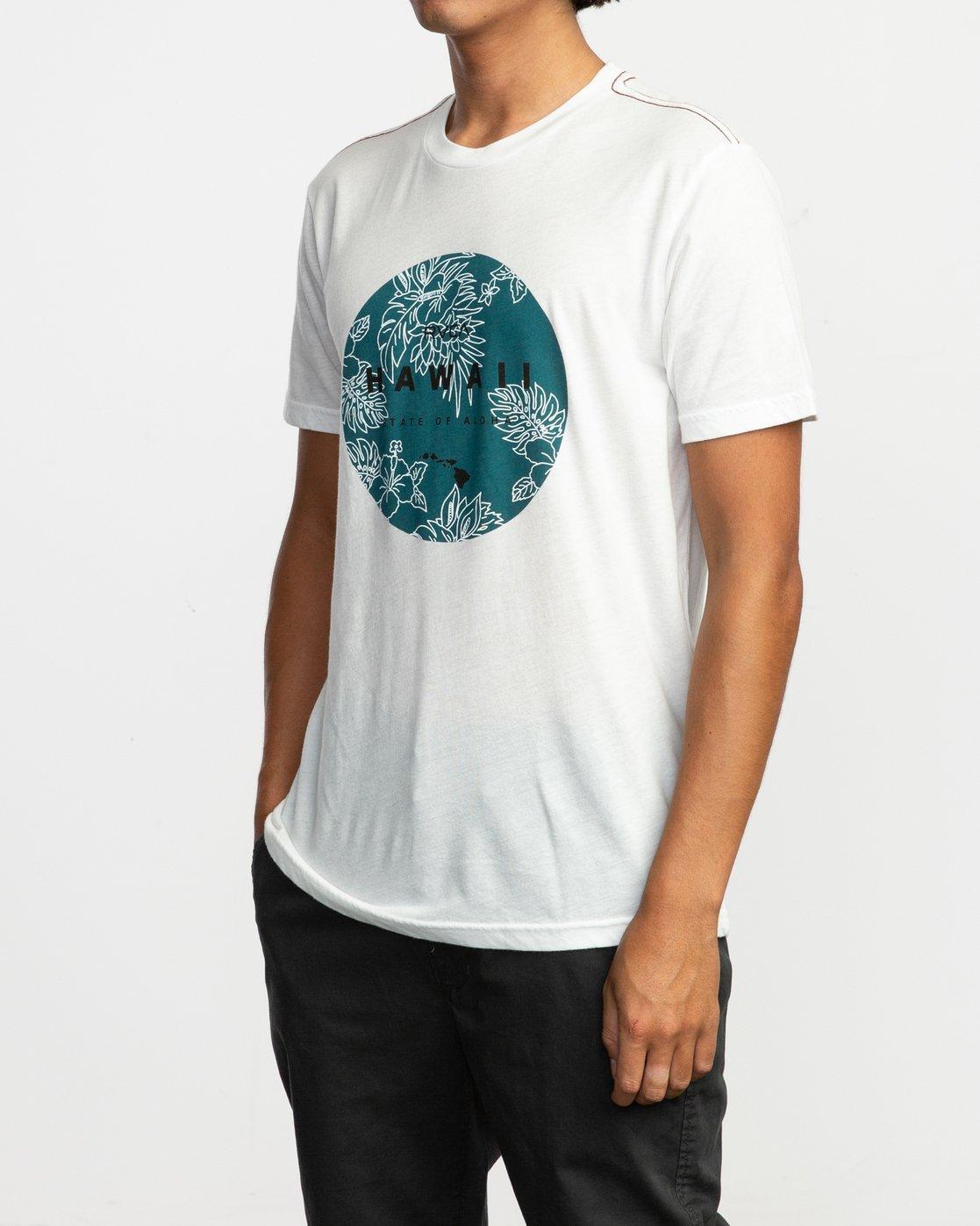 2 Da Aina Sphere T-Shirt White M420TRDS RVCA