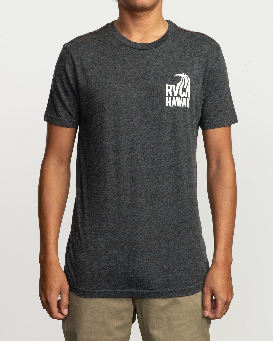 1 Hawaii Curl T-Shirt Black M420TRHS RVCA