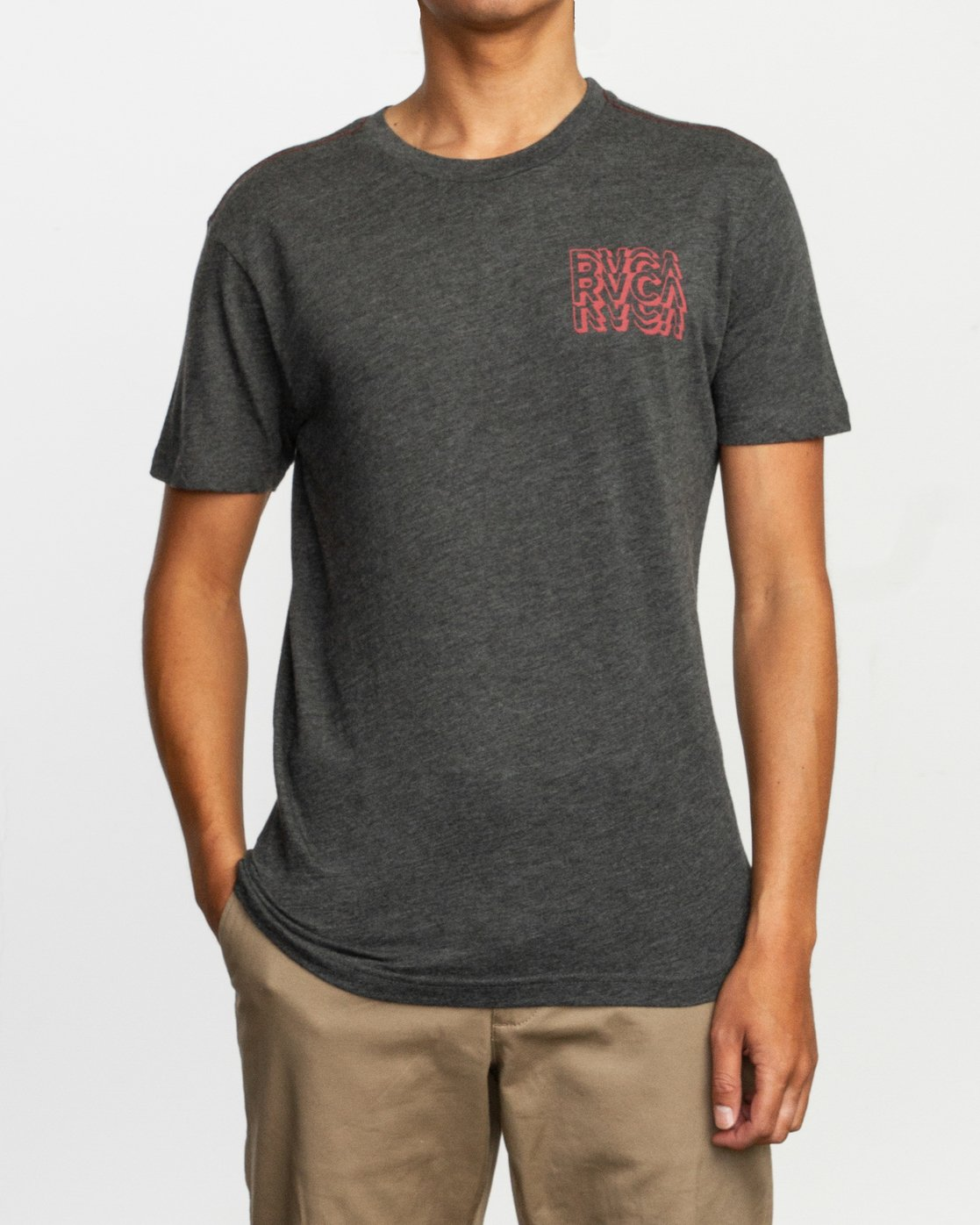 2 Ripper T-Shirt Black M420TRRI RVCA