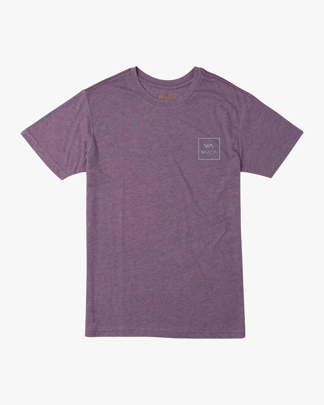 1 Segment T-Shirt Purple M420TRSE RVCA