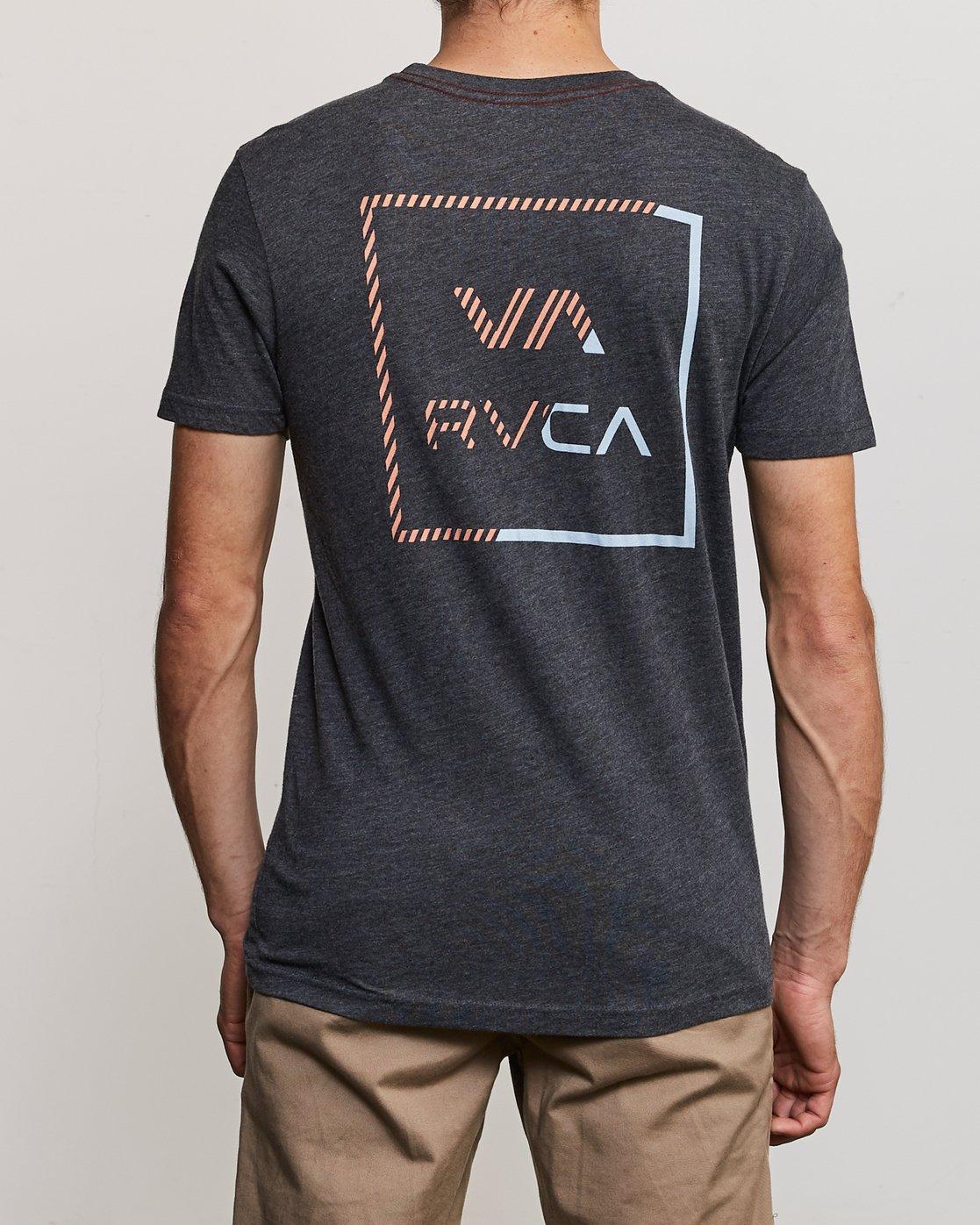 4 Segment T-Shirt Black M420TRSE RVCA