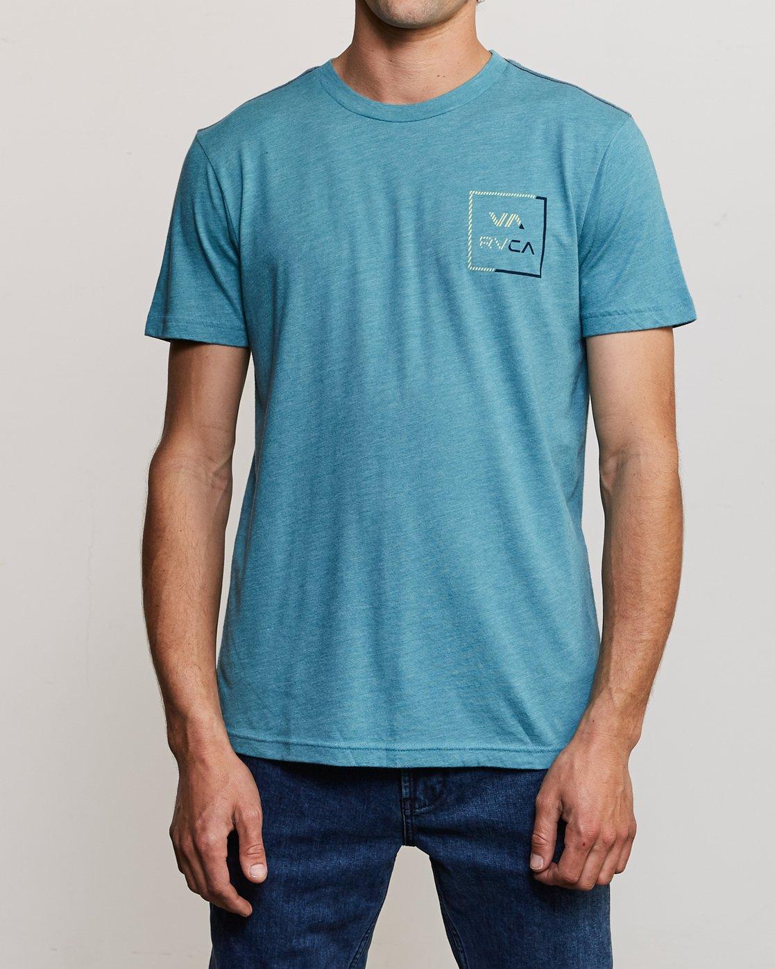 2 Segment T-Shirt Blue M420TRSE RVCA