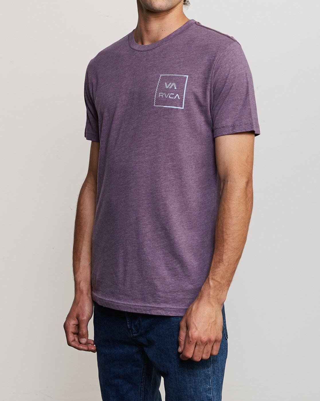 3 Segment T-Shirt Purple M420TRSE RVCA