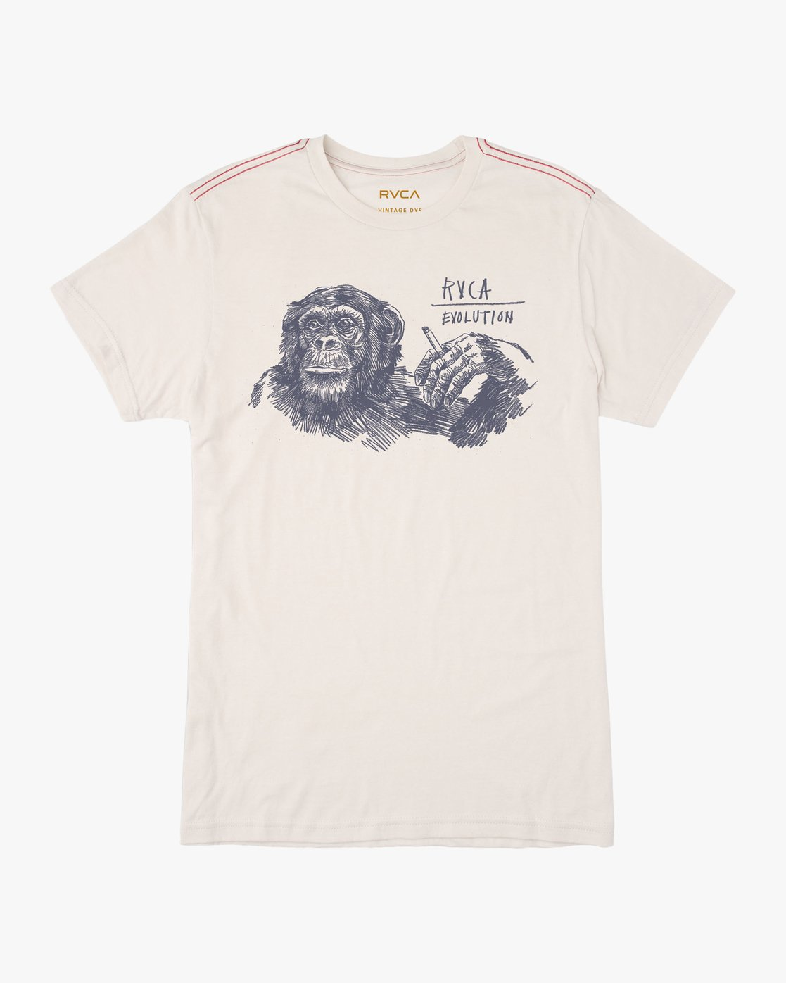 0 Ben Horton Smoker T-Shirt White M420TRSM RVCA