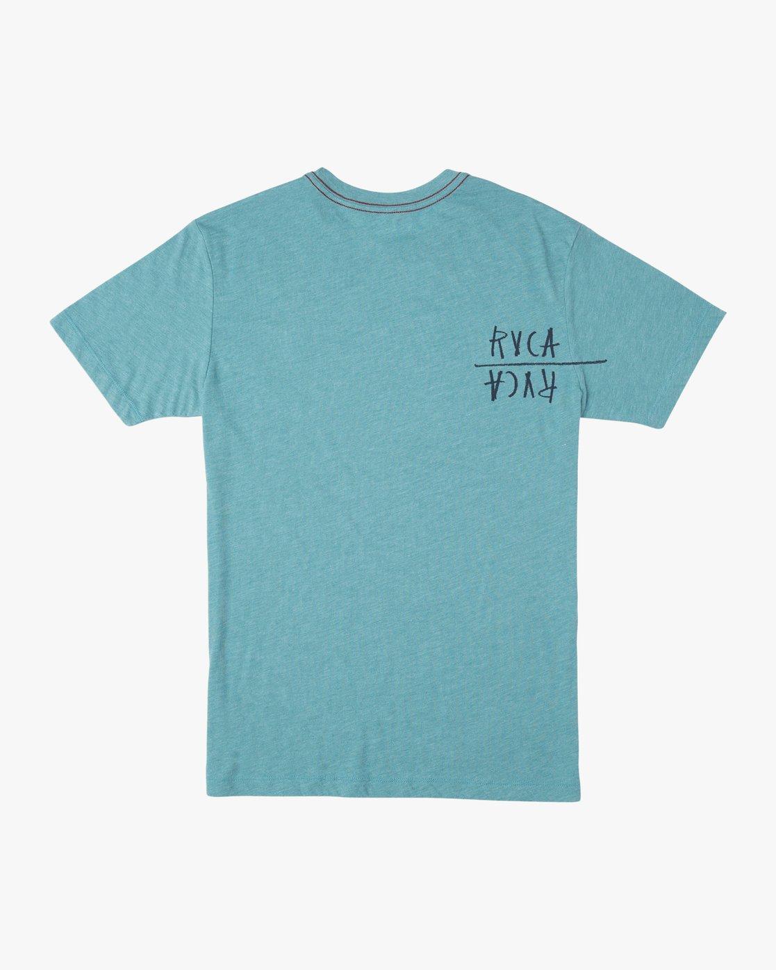 1 Ben Horton Smoker T-Shirt Blue M420TRSM RVCA