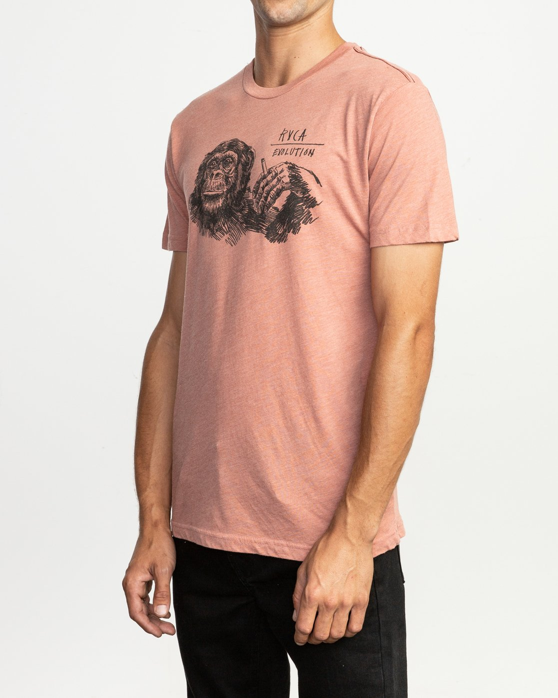 3 Ben Horton Smoker T-Shirt Brown M420TRSM RVCA