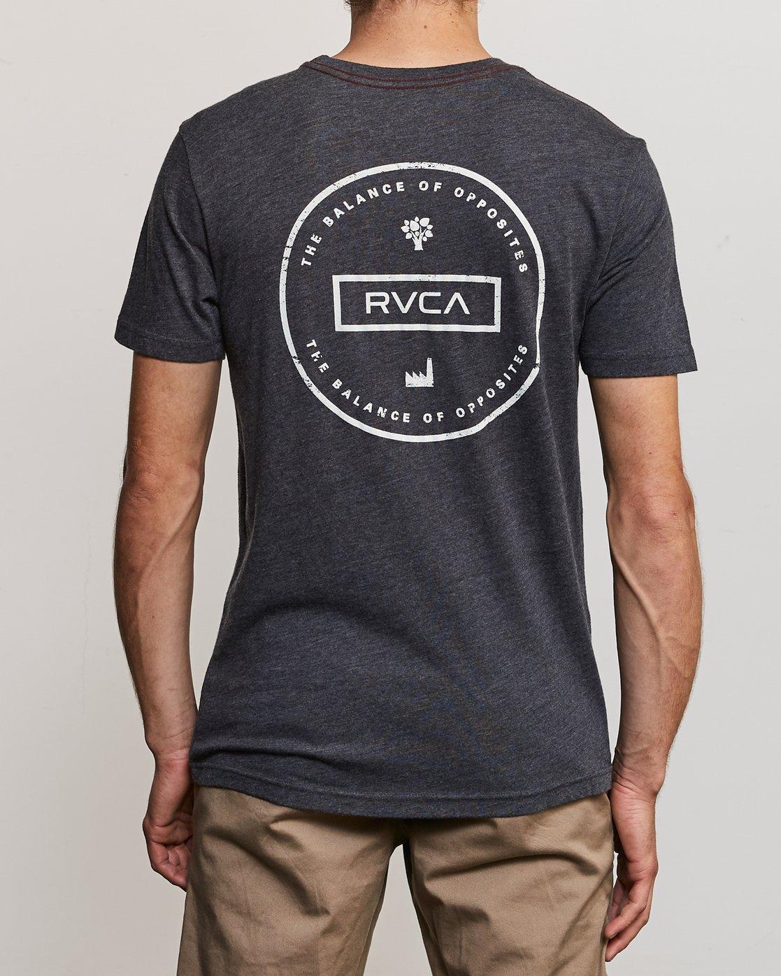 4 Induseal T-Shirt  M420URIN RVCA