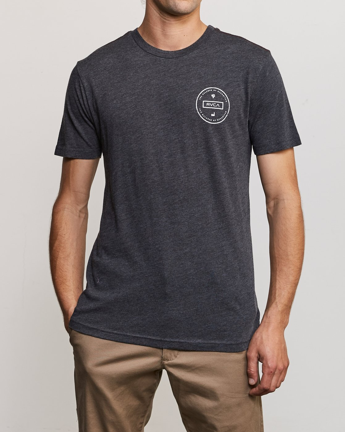 2 Induseal T-Shirt Black M420URIN RVCA