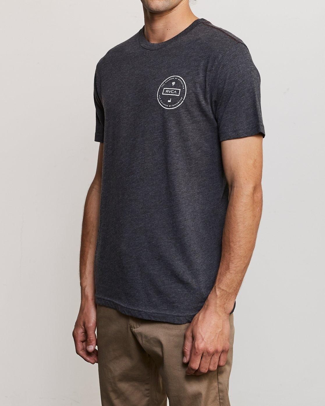 3 Induseal T-Shirt  M420URIN RVCA