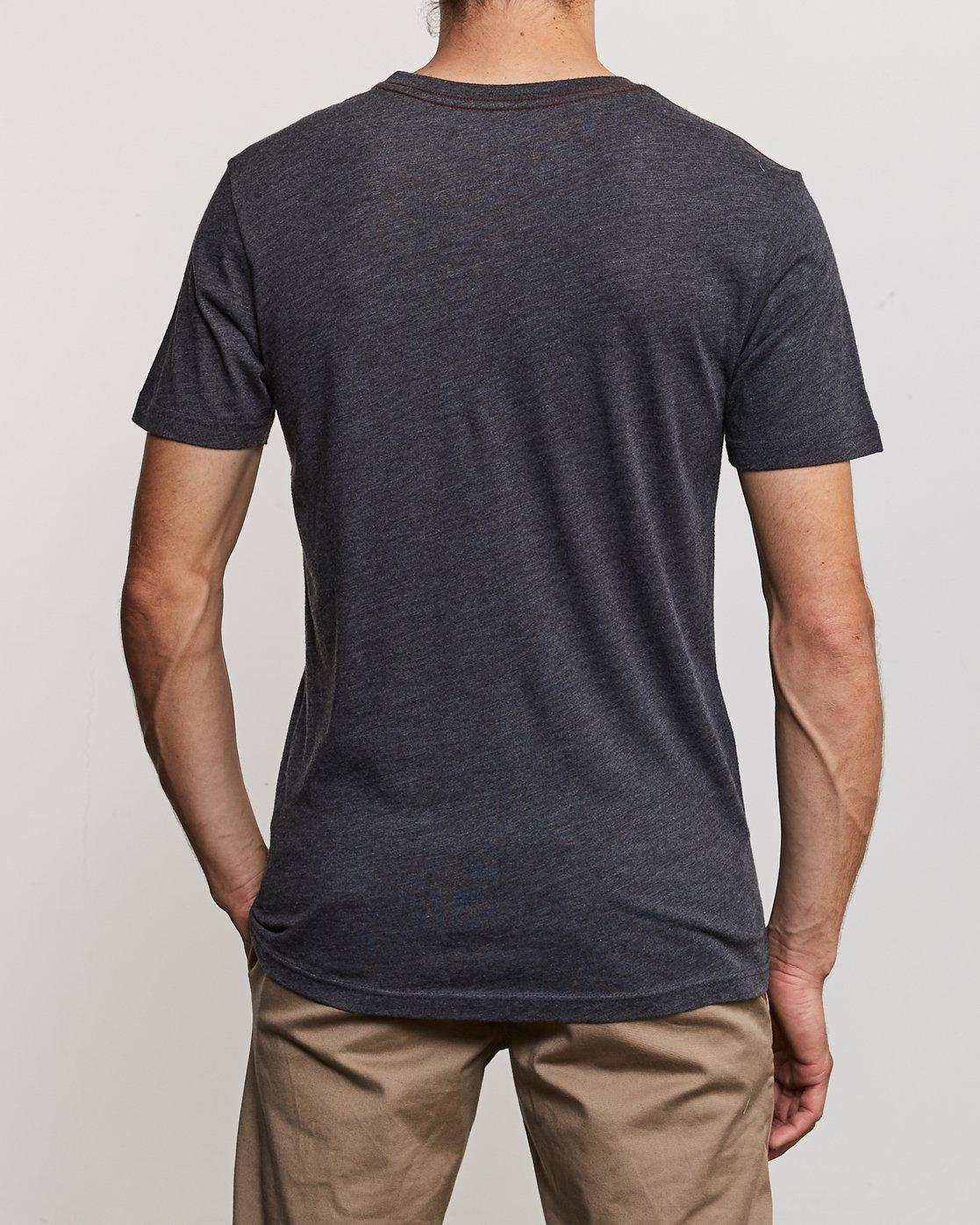4 Partnered T-Shirt Black M420URPA RVCA