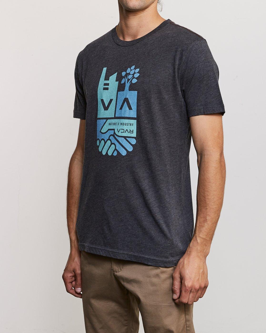 3 Partnered T-Shirt Black M420URPA RVCA