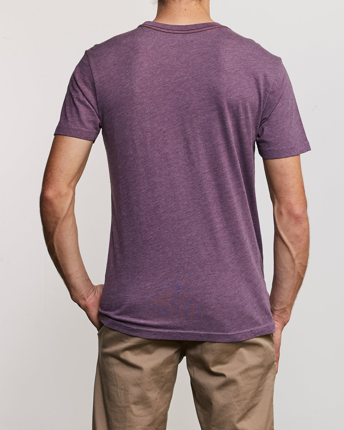 3 Partnered T-Shirt Purple M420URPA RVCA