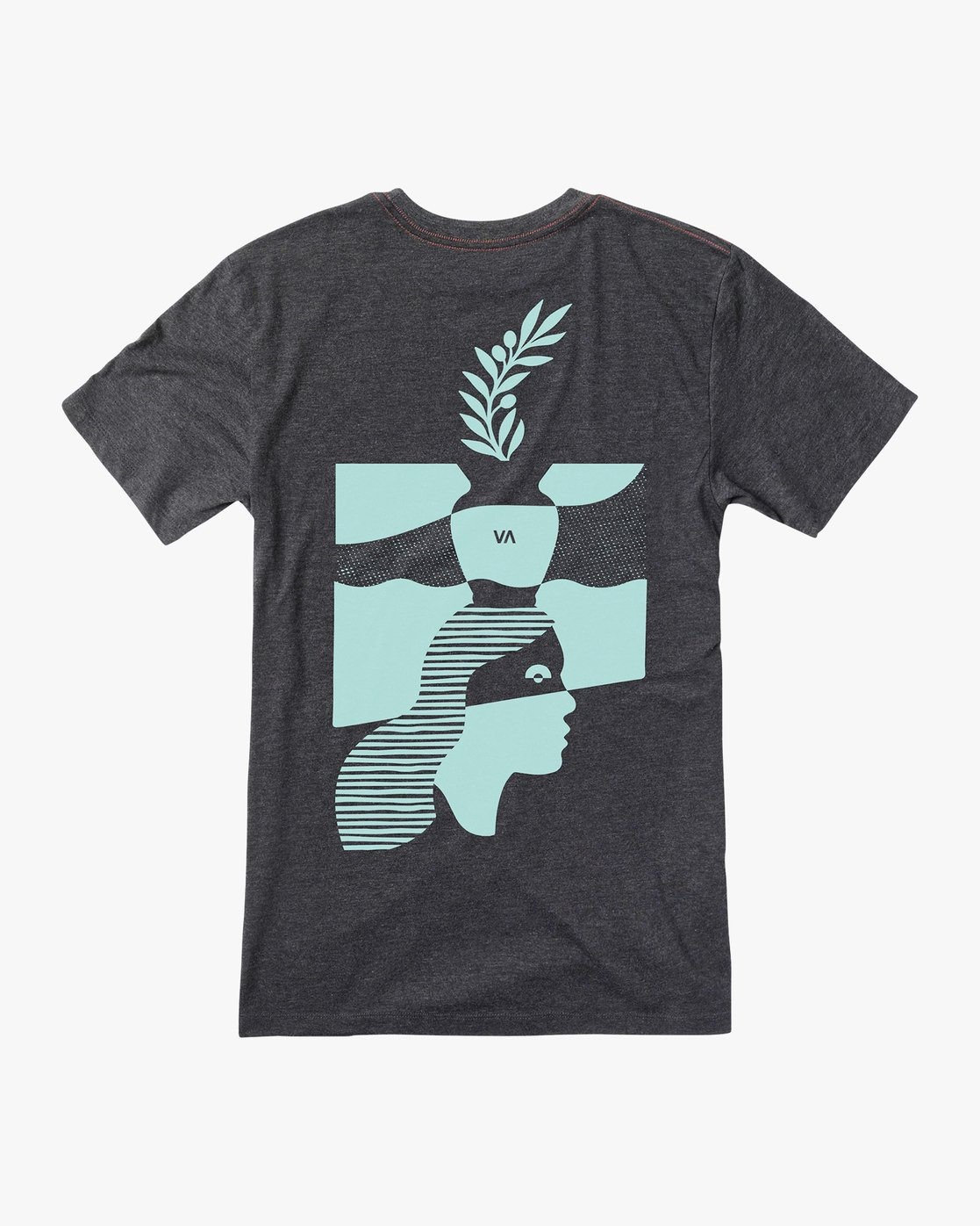 0 Mowgli Pitcher T-Shirt Black M420URPI RVCA