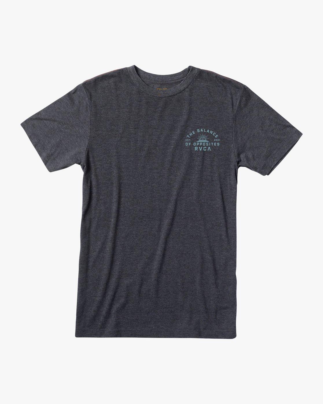 1 Risen T-Shirt Black M420URRI RVCA