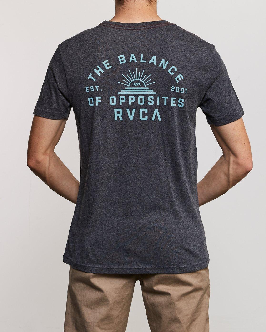 4 Risen T-Shirt Black M420URRI RVCA