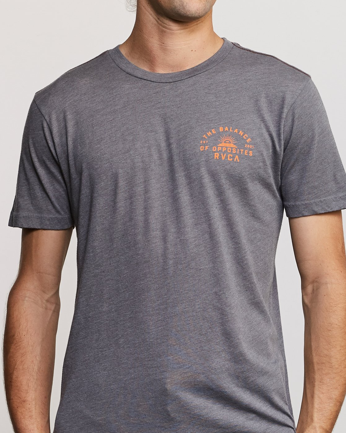 6 Risen T-Shirt Grey M420URRI RVCA