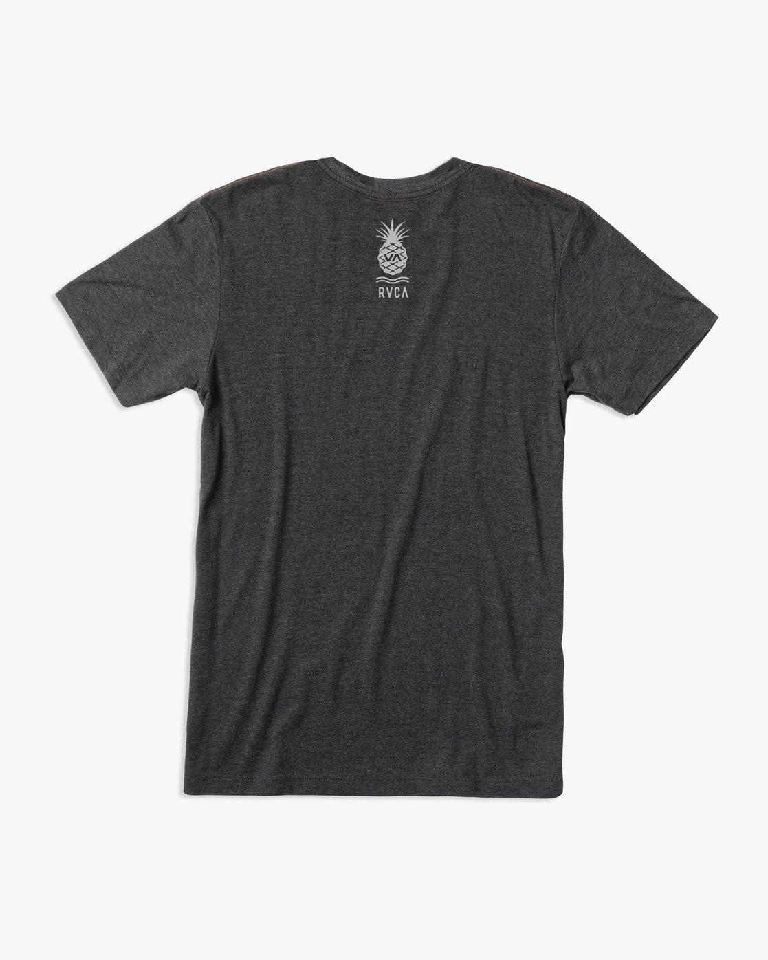 1 Rising Pineapple T-Shirt Black M420URRP RVCA