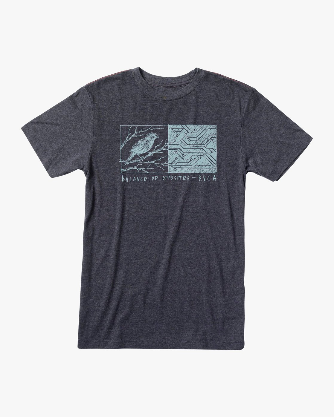 0 Ben Horton Tweet T-Shirt Black M420URTW RVCA