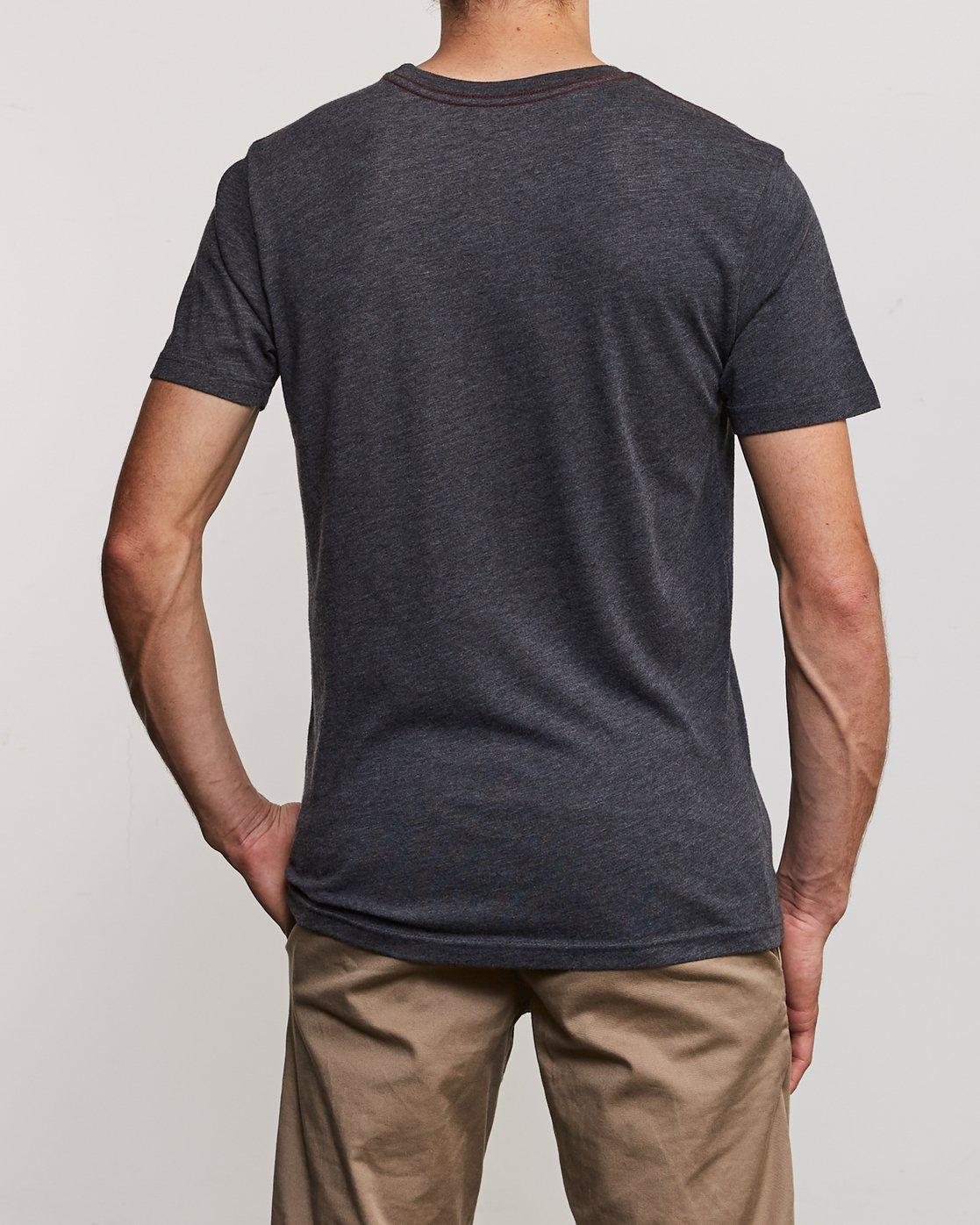 3 Ben Horton Tweet T-Shirt Black M420URTW RVCA