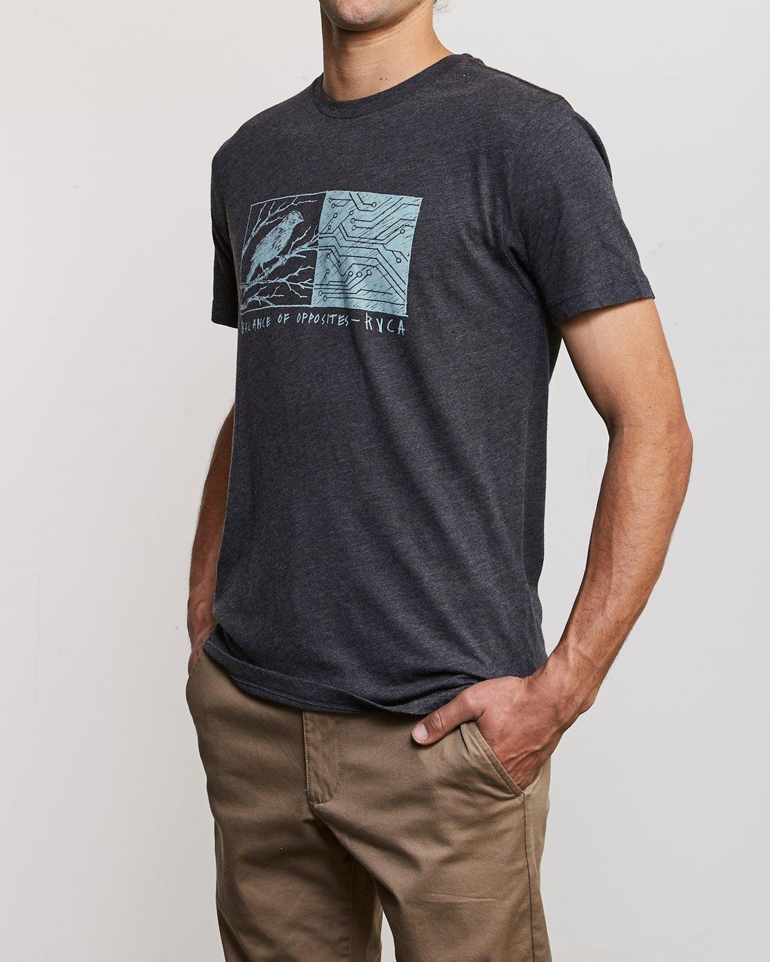 2 Ben Horton Tweet T-Shirt Black M420URTW RVCA