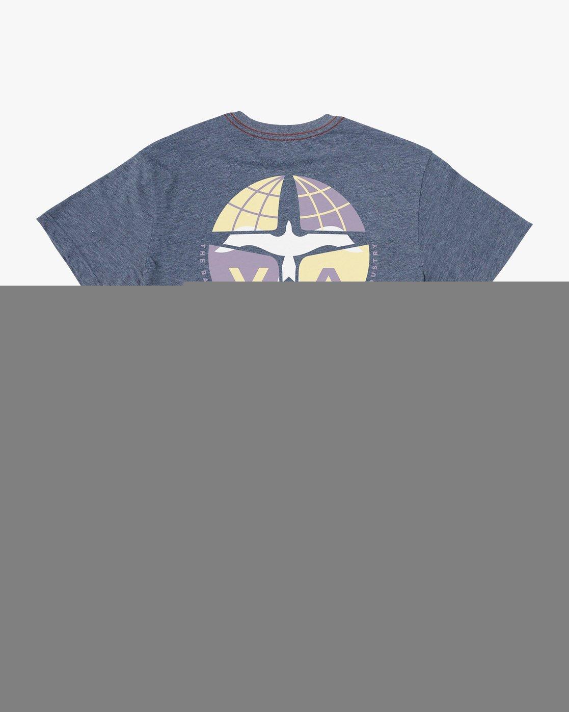 0 Aero T-Shirt Blue M420VRAE RVCA