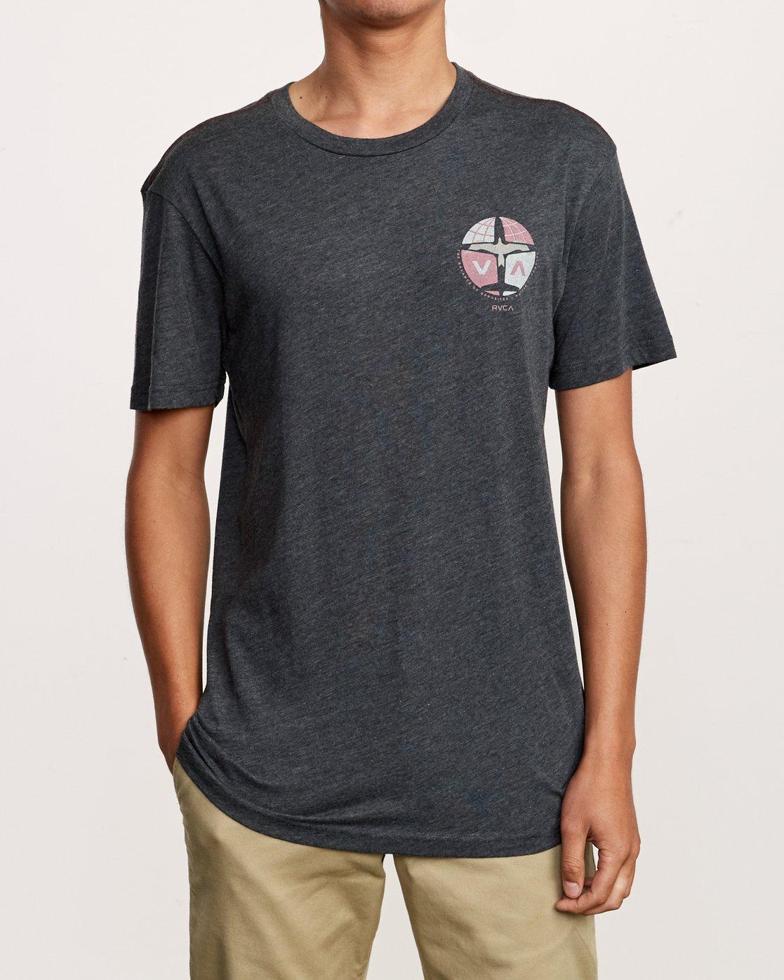 2 Aero T-Shirt Black M420VRAE RVCA