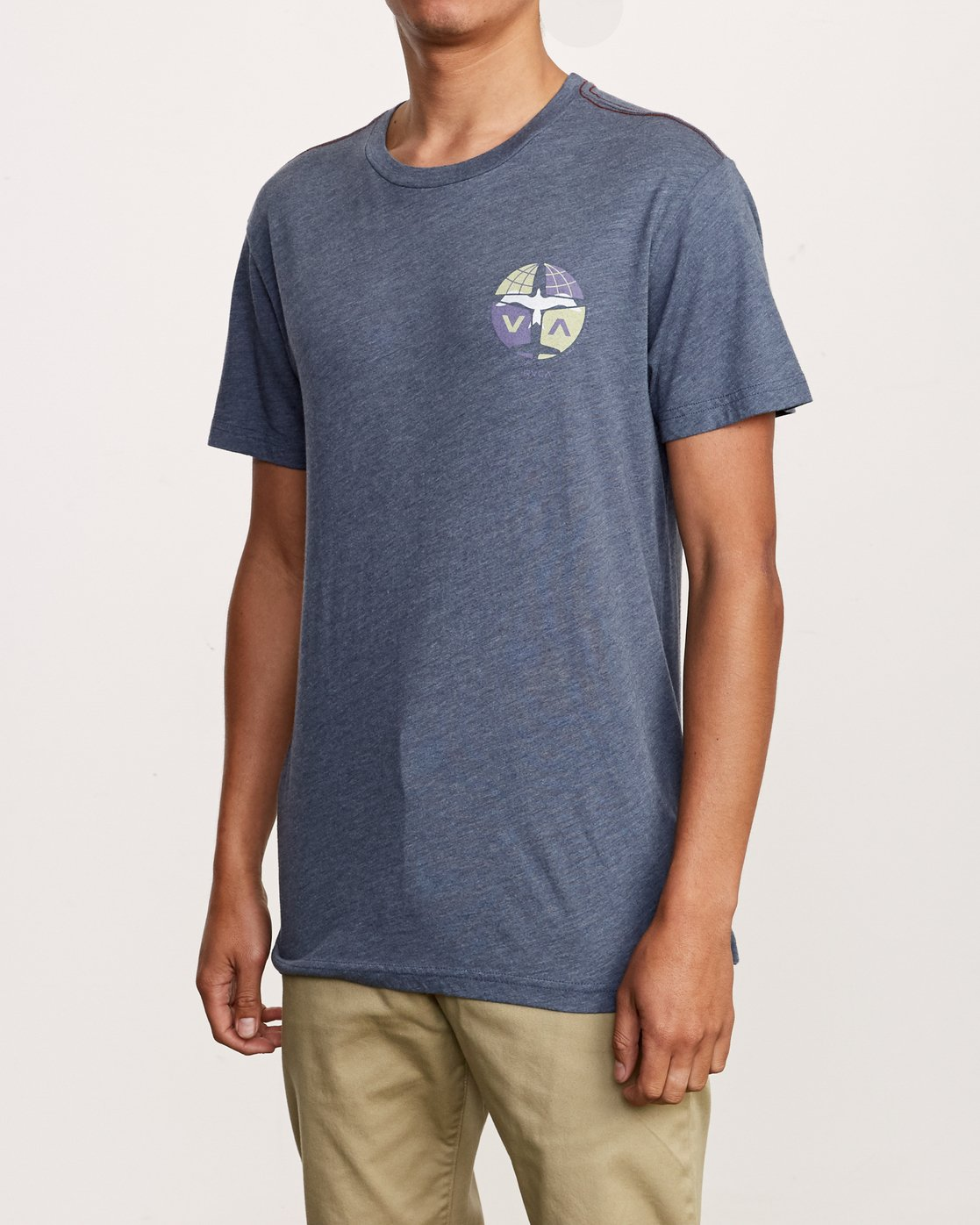 3 Aero T-Shirt Blue M420VRAE RVCA