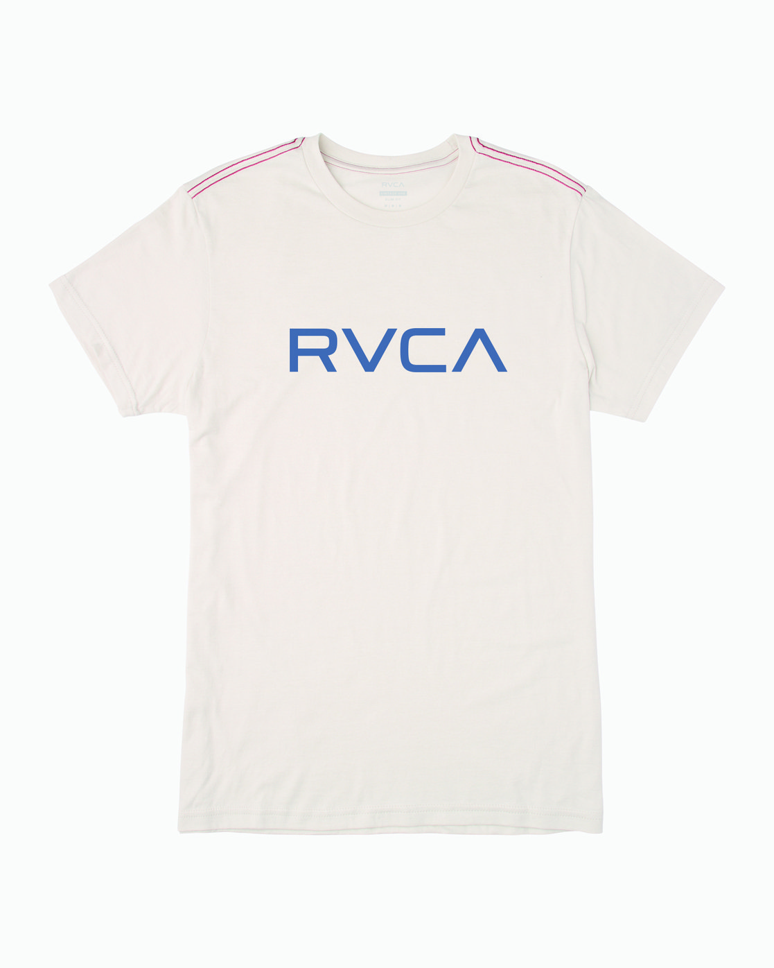 0 BIG RVCA T-SHIRT White M420VRBI RVCA