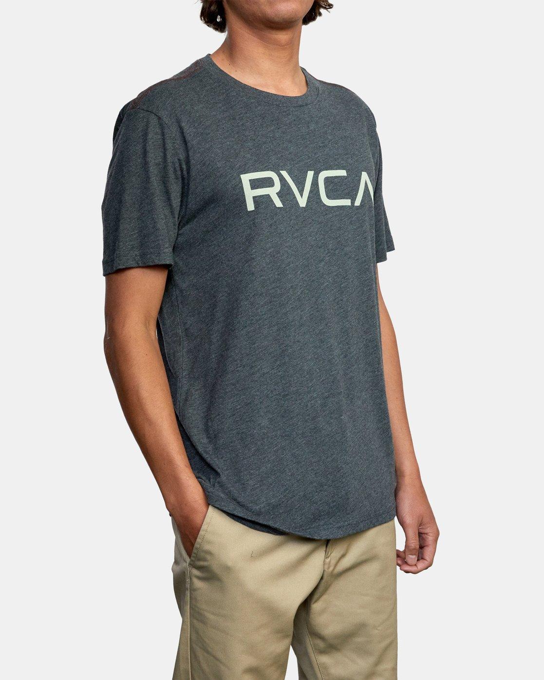 5 BIG RVCA SHORT SLEEVE TEE Black M420VRBI RVCA