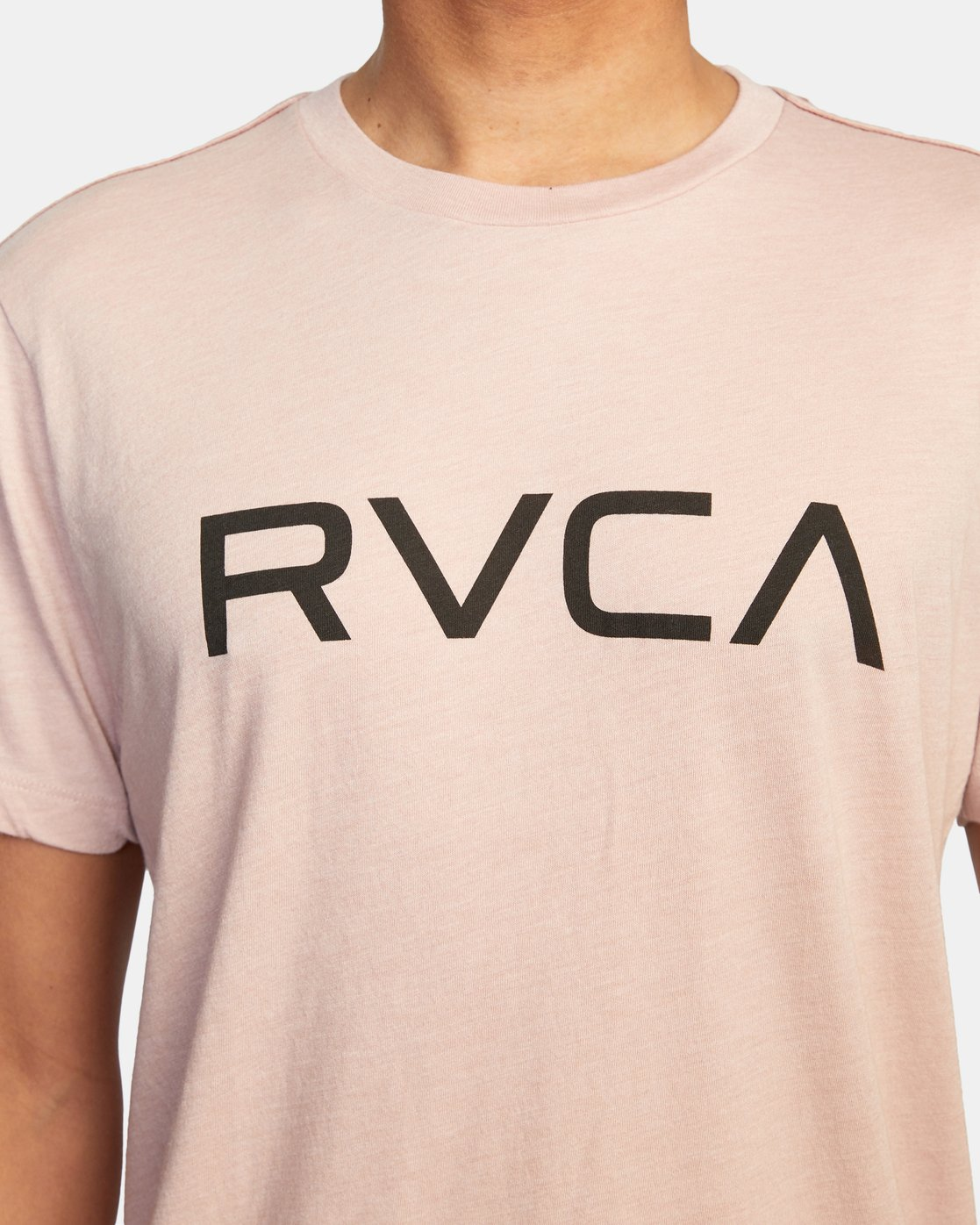 5 BIG RVCA SHORT SLEEVE TEE Grey M420VRBI RVCA