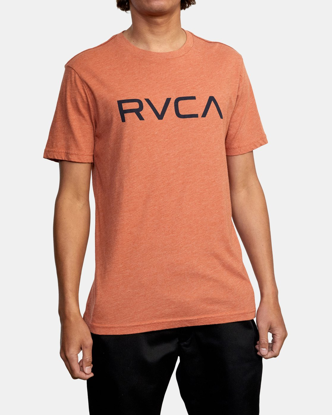 1 BIG RVCA SHORT SLEEVE TEE Brown M420VRBI RVCA