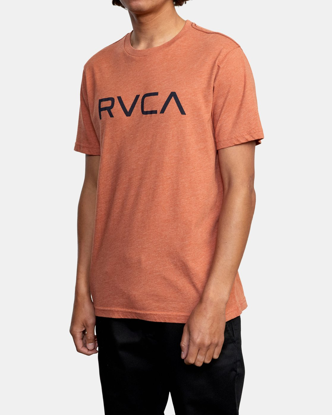 4 BIG RVCA SHORT SLEEVE TEE Brown M420VRBI RVCA